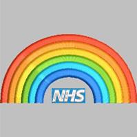 NHS Rainbow Cardigan