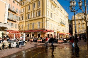 The old city of Nice