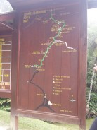 Mt. Kinabalu route map