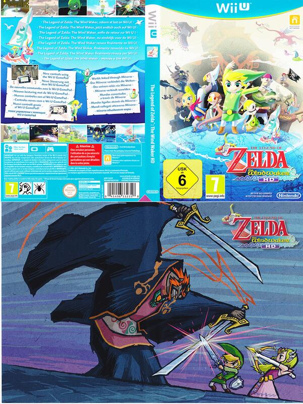 reversible wind waker hd cover