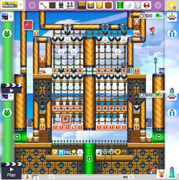 Super Mario Maker Checkpoint Full