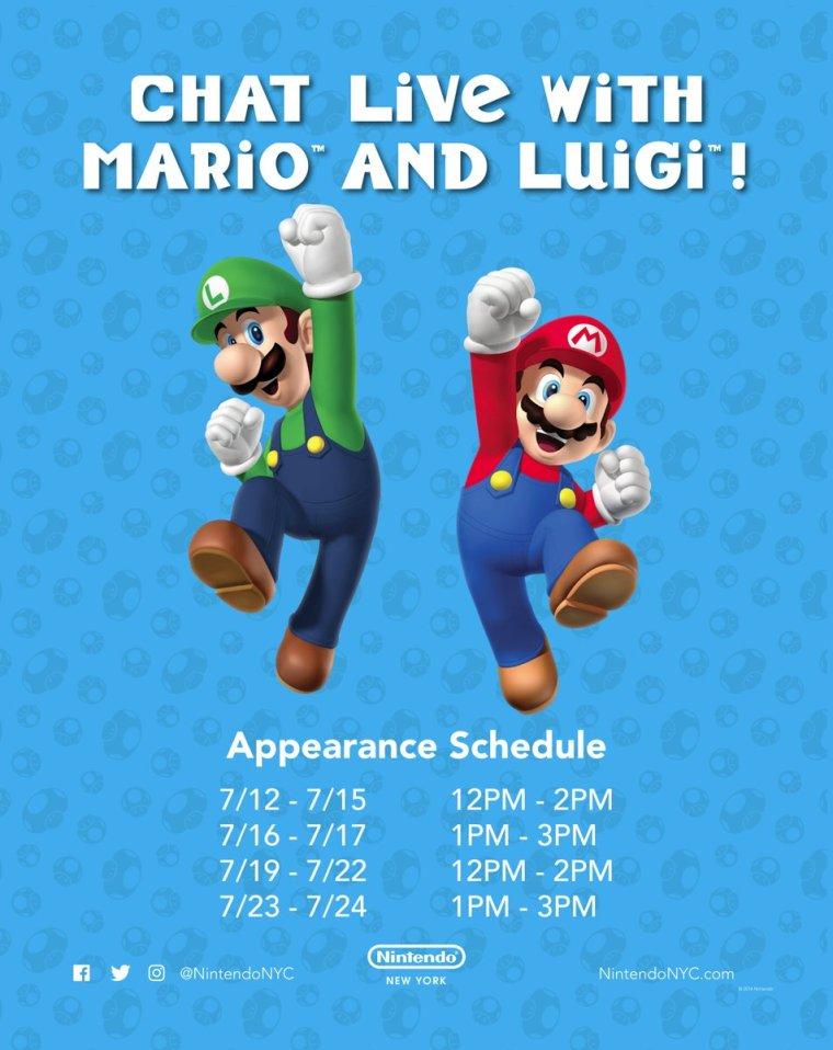mario_and_luigi_nintendo_ny_appearance_schedule