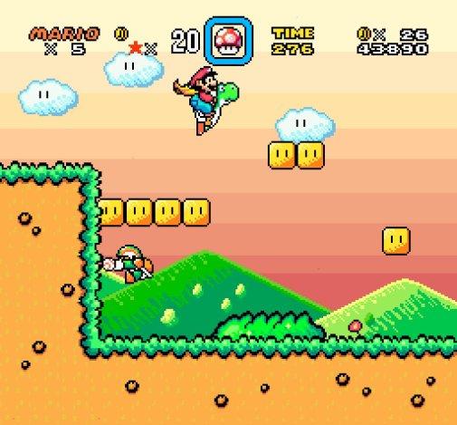 Super_Mario_World_with_Yoshis_Island_art_style_screenshot