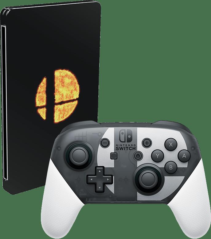 nsuper_smash_bors_ultimate_switch_pro_controller