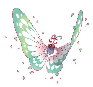 Gigantamax Butterfree Marketing Art