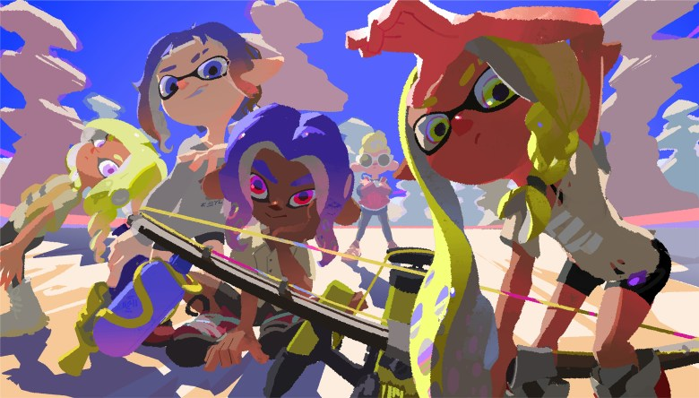 The Splatoon 3 team showcases a new summer-themed artwork