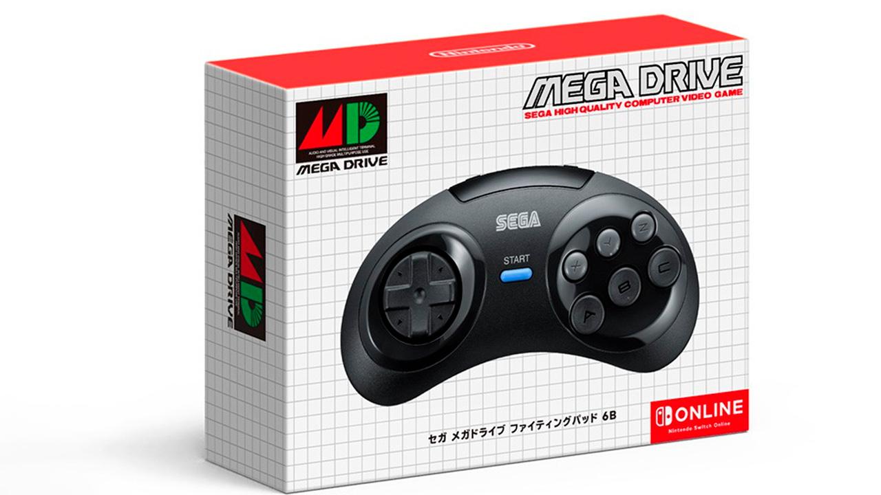 Japan six button genesis controller