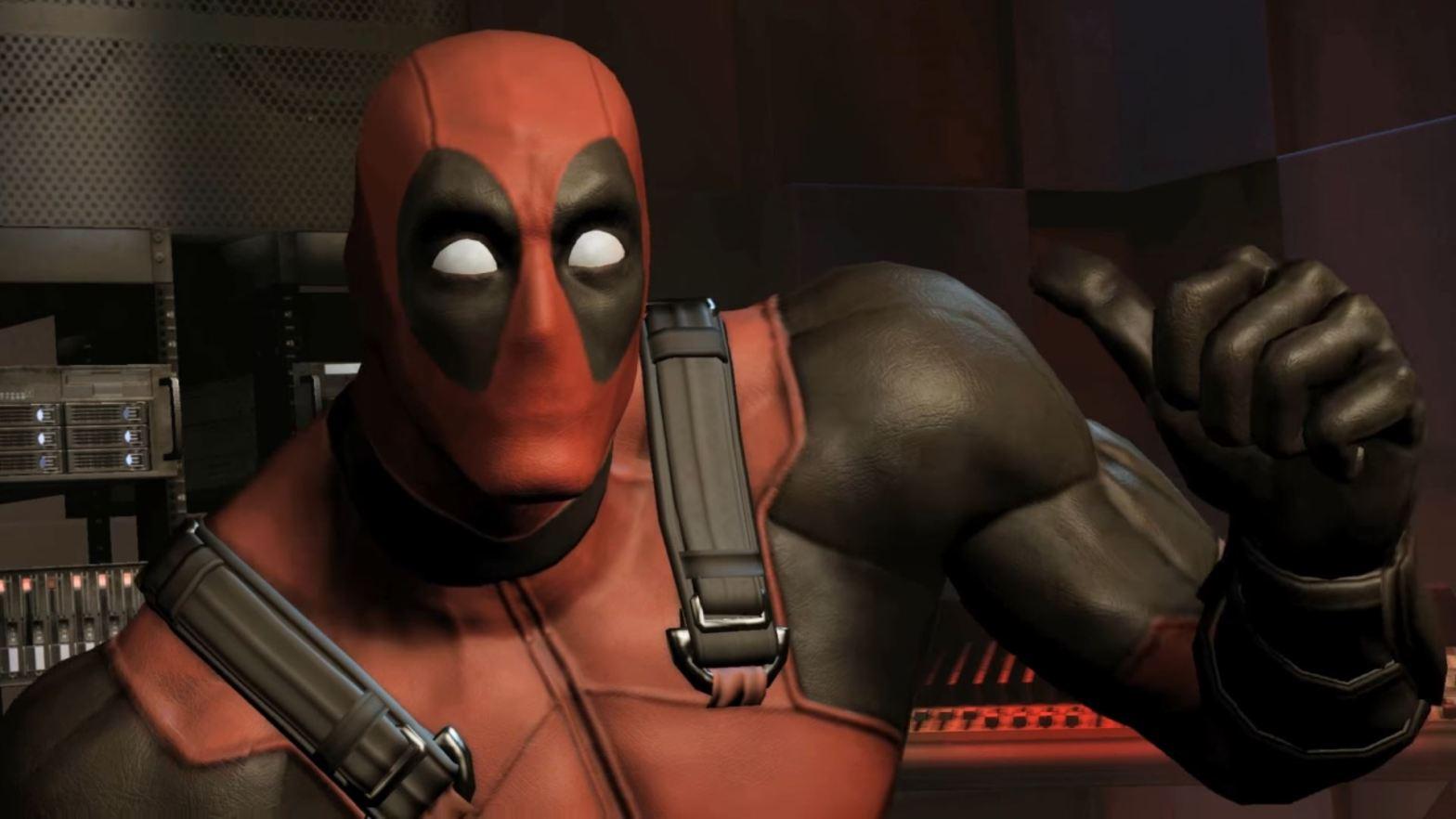 deadpool video game screenshot
