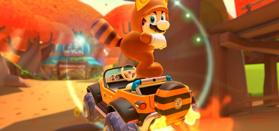 Mario Kart tour autumn tour