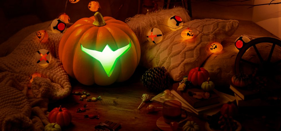 Metroid Dread halloween