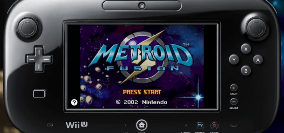 metroid fusion virtual console wii u