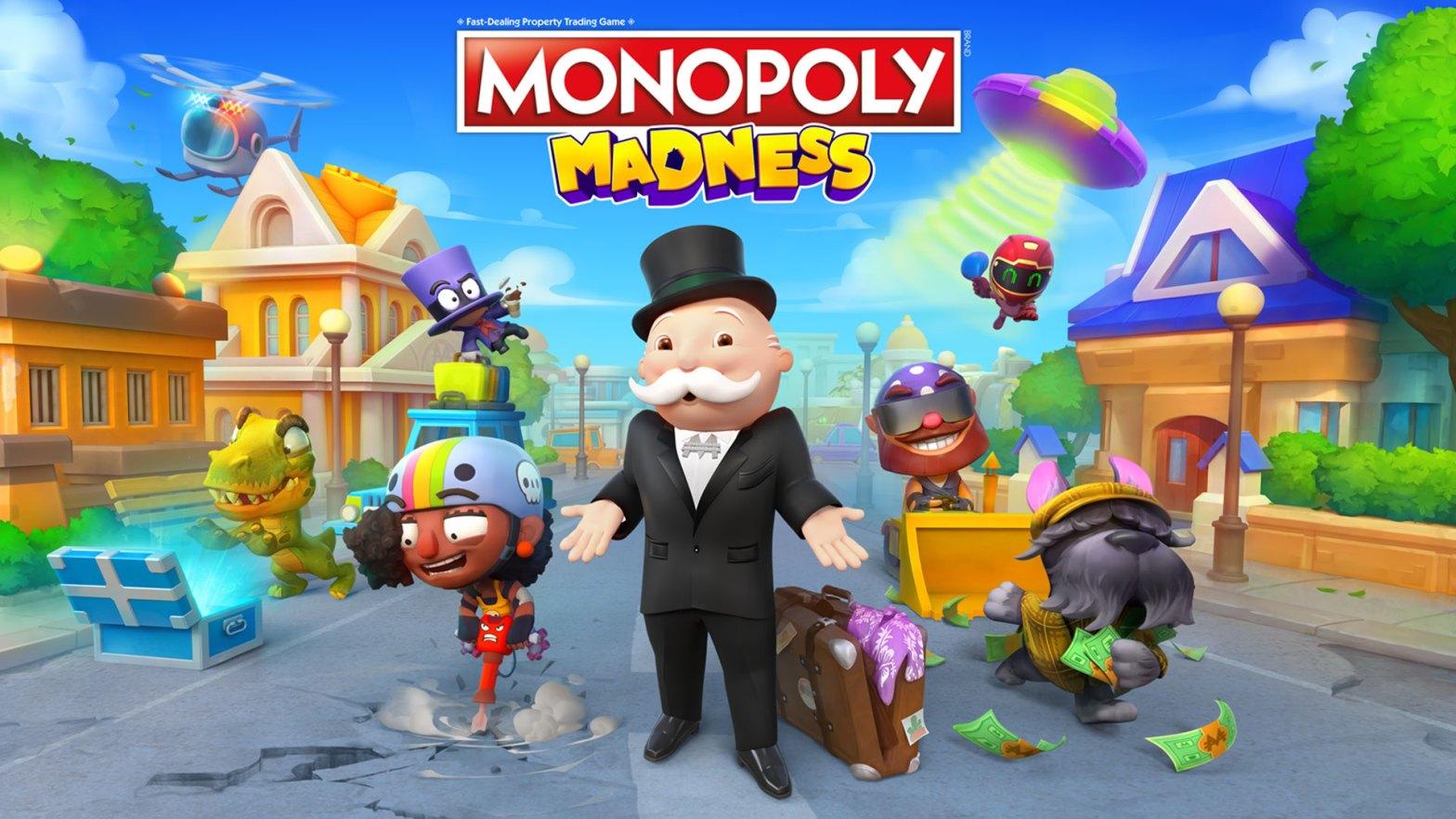 monopoly madness logo