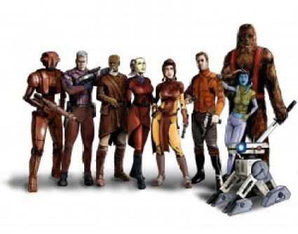 Knights of the Old Republic Companions