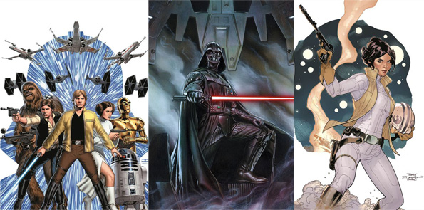 Marvel Star Wars Comics Covers