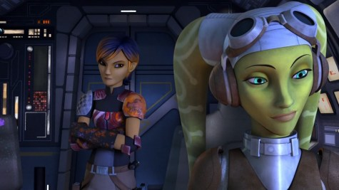 Star Wars Rebels Out of Darkness Questioning Hera
