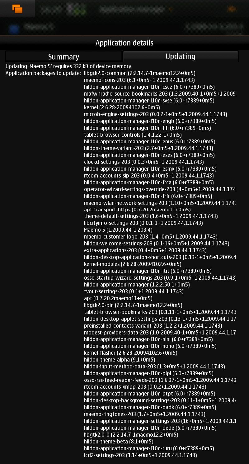 n900updatedetails