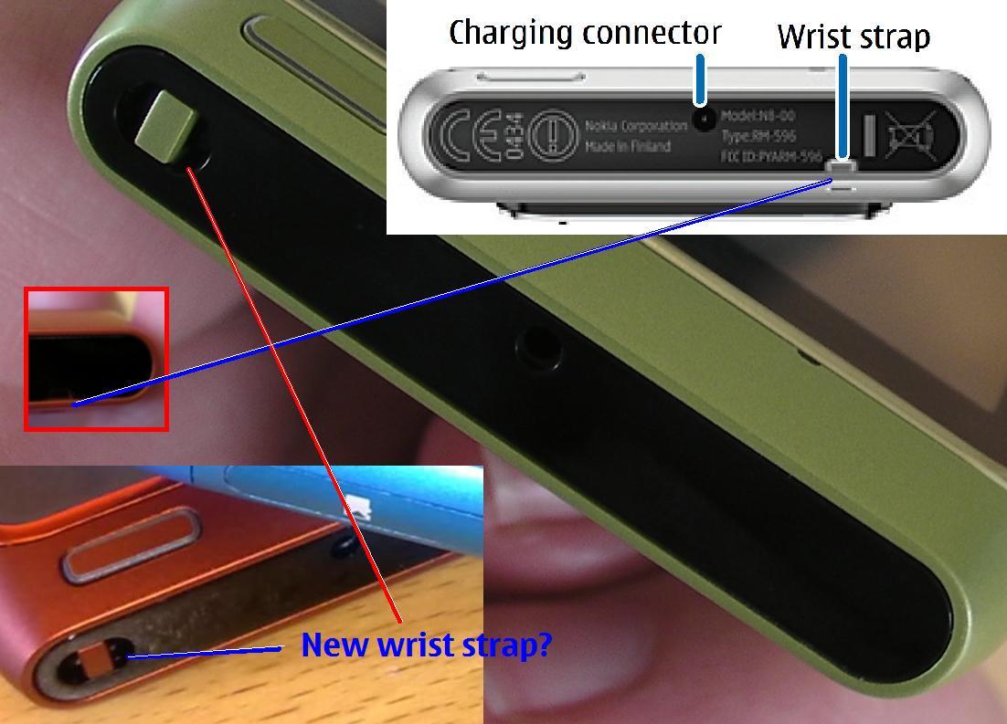 N8 WRIST STRAP