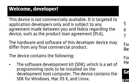 Nokia N950 Manual