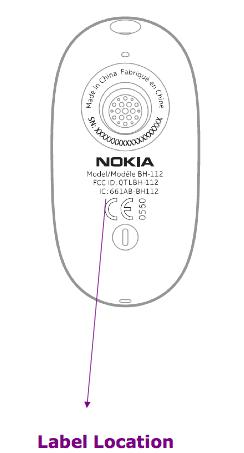 Nokia BH-112 passes FCC