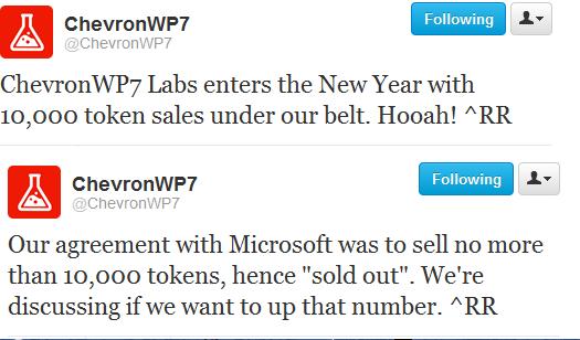 Cehvron Unlocker tweets