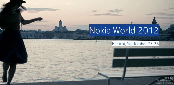 nokia world 2012 finland!