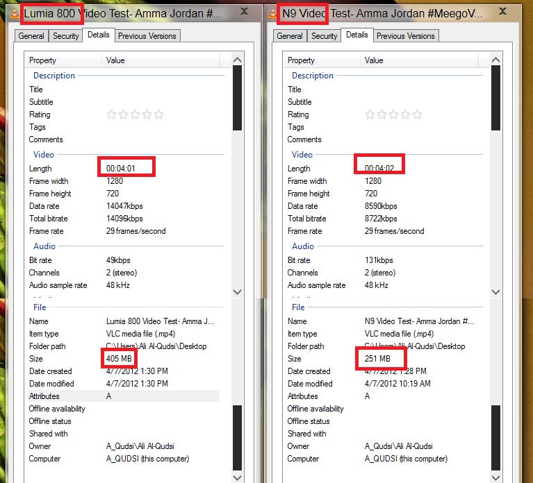 N9 vs meego video