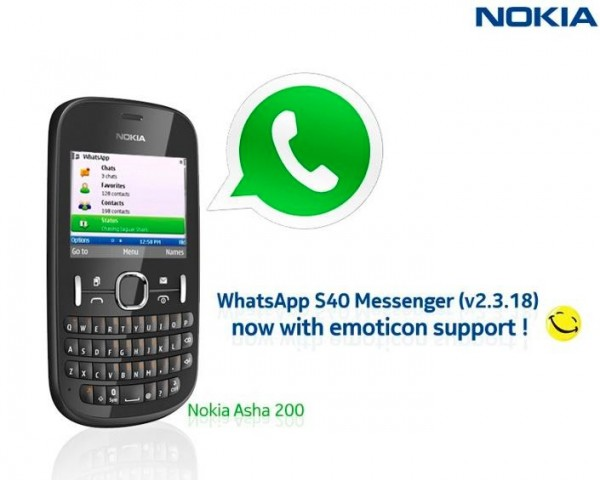 Nokia Asha 200 Supports Whatsapp Or Not