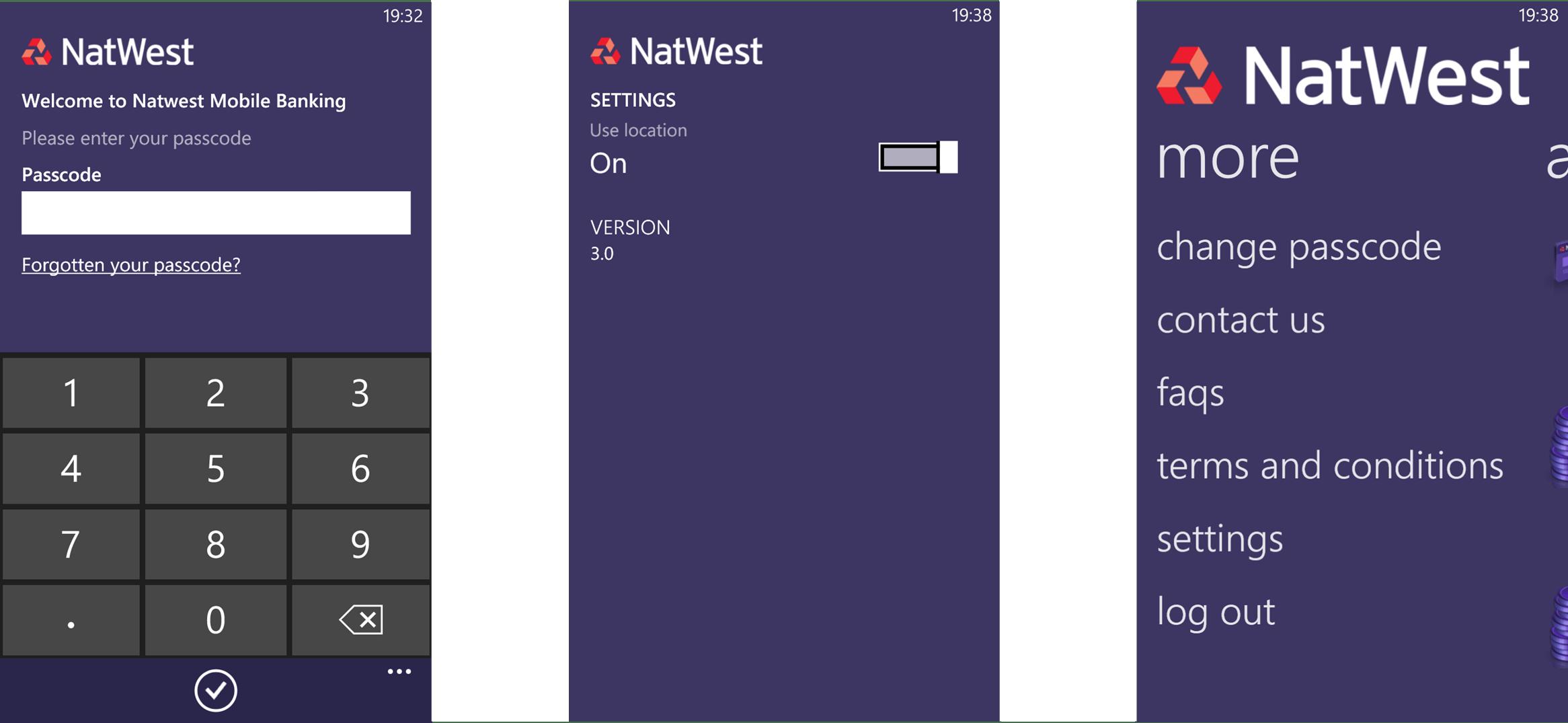 NatWest App (3) Login
