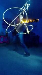 Proshot 's magic. :) 4secs exposure ...