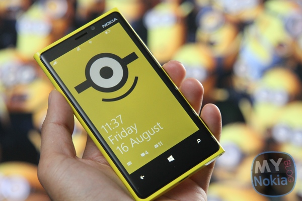 Minion Wallpaper and Ringtone for your Nokia Lumia (and