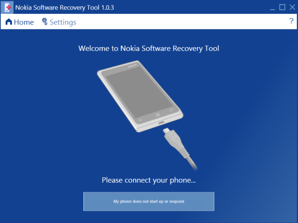 Nokia_Recovery_Tool_MainScreen