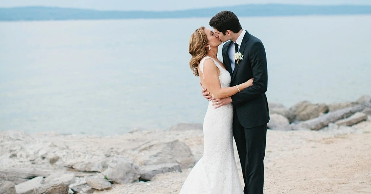 Ginger Zees Michigan Wedding Photos In People Magazine