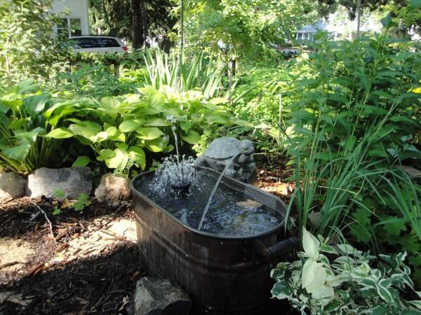 small water garden fountain ideas More cool gardens, garden art, and sheds
