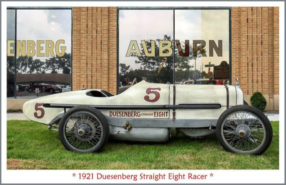 1921 Duesenbrg Straight Eight Racer