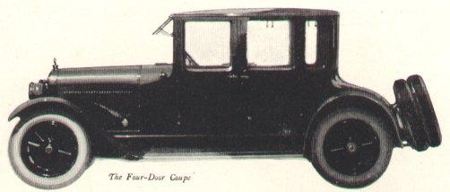1921 LaFayette Four Door Coupe