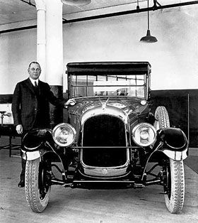 1924 Chrysler's first car
