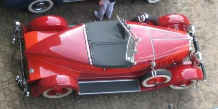 1929 Auburn 8-90 Boattail Speedster U form