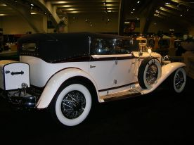 1929 Cord L-29 convertible sedan white