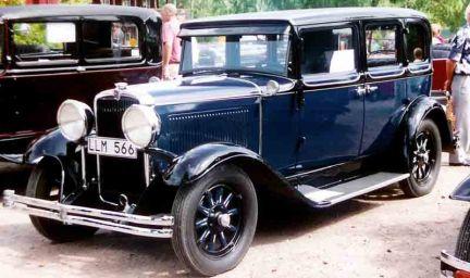 1930 Nash Single Six Series 450 4-Door Sedan