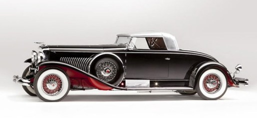 1931 Duesenberg Model J Coupé Whittell's Murphy body