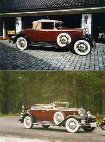 1931 Nash Eight-90, Convertible Sedan