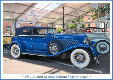 1932 Auburn 12-160A Custom Phaeton Sedan