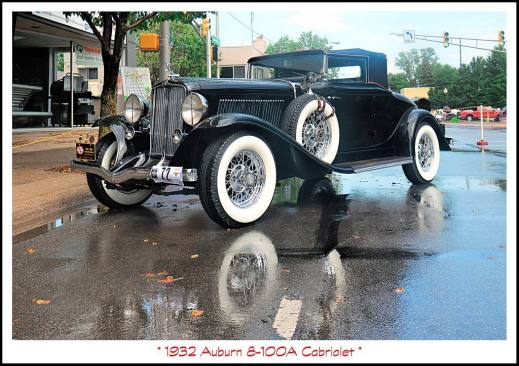 1932 Auburn 8-100A Cabriolet 8-100