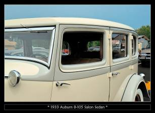1933 Auburn 8-105 Salon Sedan