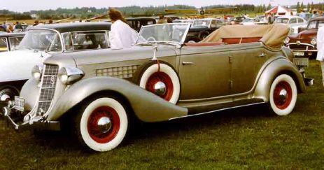 1935 Auburn 851 Phaeton berlina