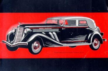 1935 Auburn 851 phaeton