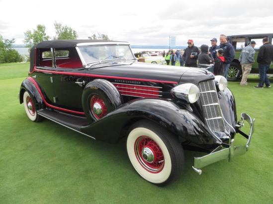 1935 Auburn 851 SC Phaeton