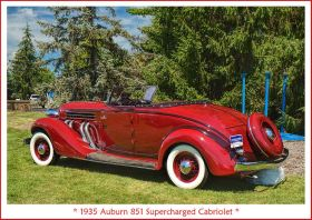 1935 Auburn 851 Supercharged Cabriolet 4