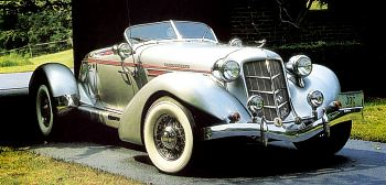 1936 Auburn 852 boattail