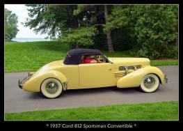 1937 Cord 812 Sportsman Convertible